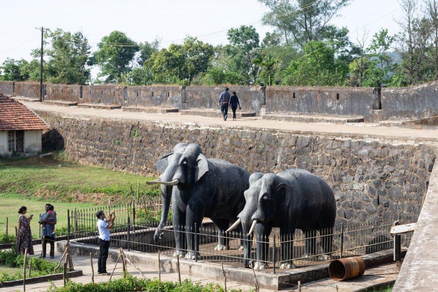 Fort de Madikeri, Coorg, Inde