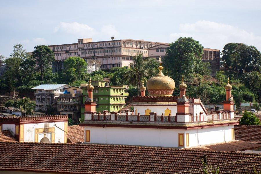Omkareshwara Temple à Madikeri, Coorg, Inde
