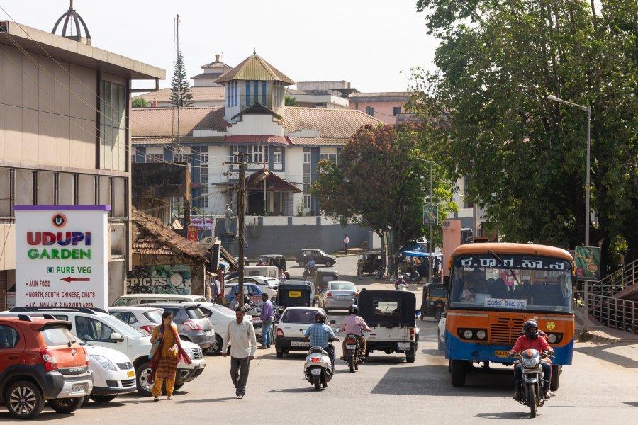 Ville de Madikeri, Coorg, Karnataka, Inde