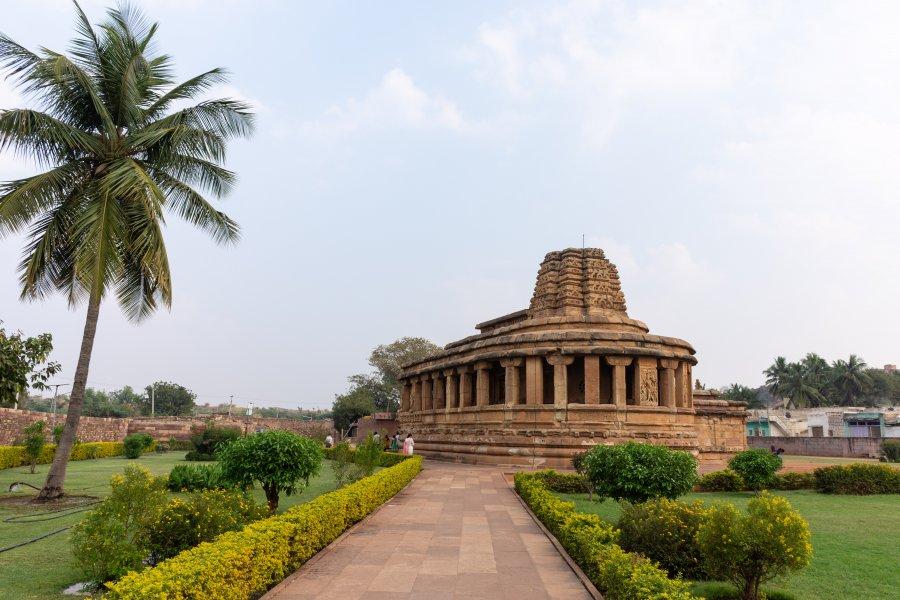 Temple de Durga à Aihole, Inde