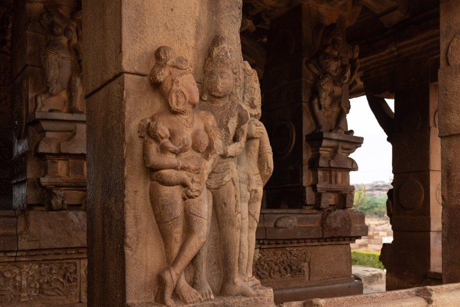 Temple hindou de Durga à Aihole, Inde