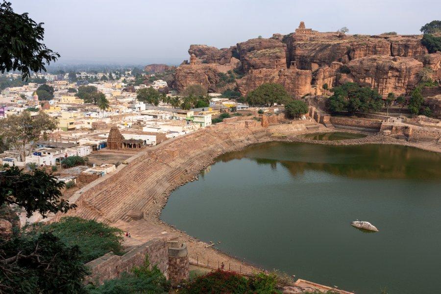 Temple de Shivalaya, Badami, Inde