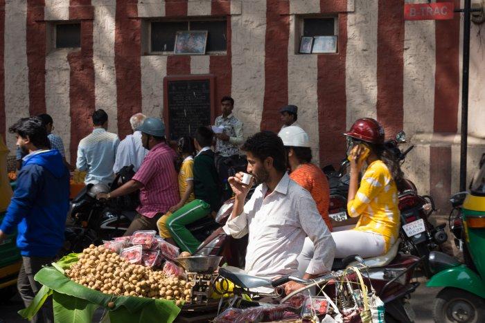 Quartier de Chickpet, Bangalore, Inde