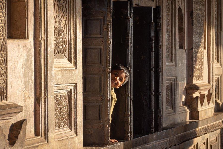 Enfant à Ibrahim Rauza en Inde