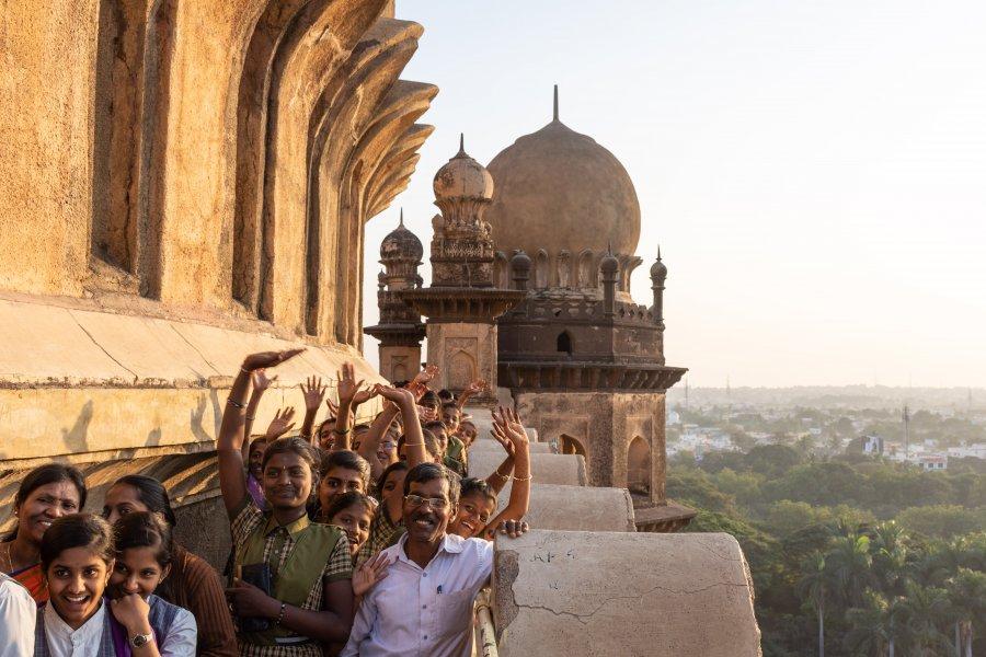 Monument Gol Gumbaz, Bijapur, Inde