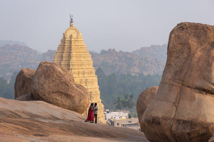Temple Virupaksha à Hampi, Inde