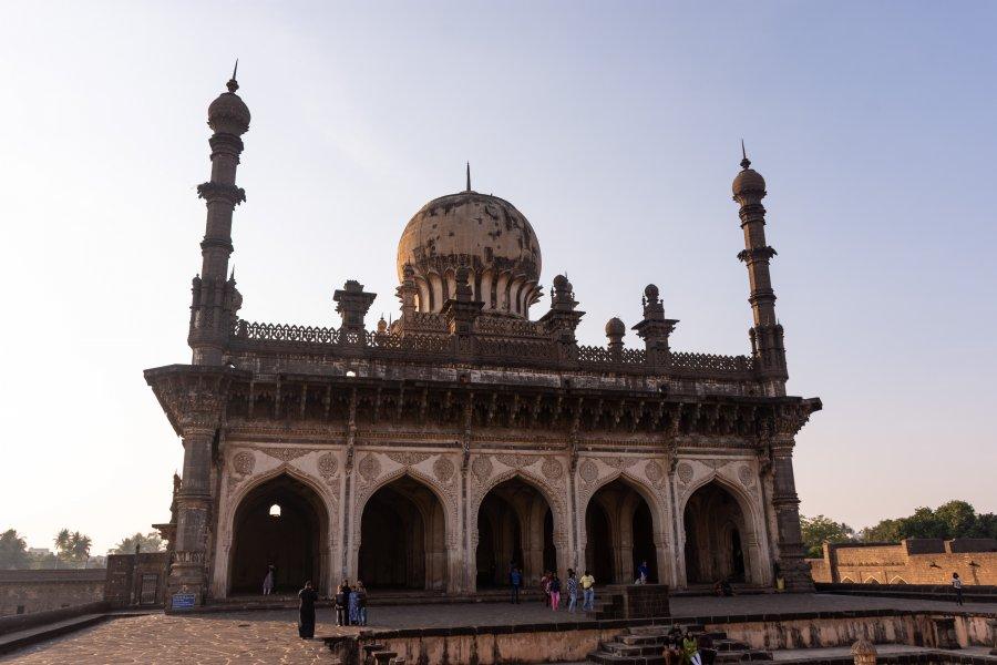Monument Ibrahim Rauza à Bijapur, Inde