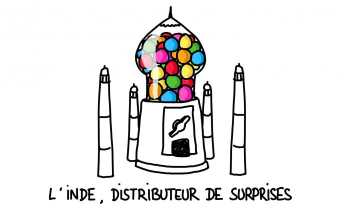 Dessin : l'Inde, distributeur de surprises