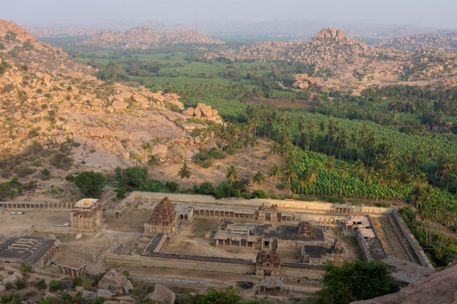 Matanga Hill, Ruines d'Hampi,Inde