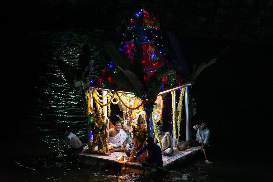 Fête de Shankaramana à Hampi en Inde