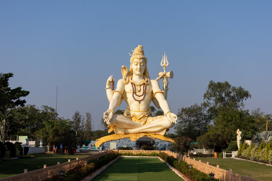 Shiva, Temple Shivgiri, Bijapur, Inde