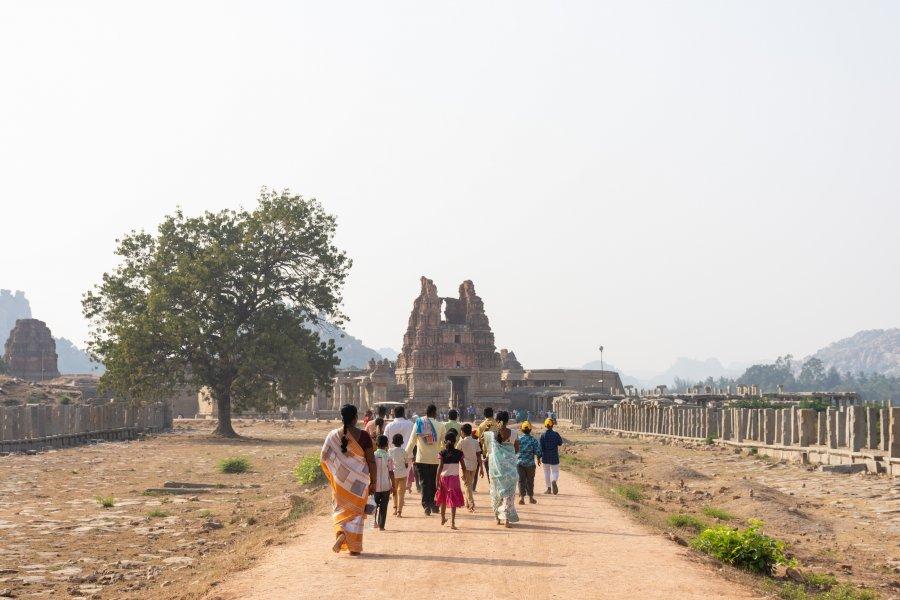 Temple Vittala à Hampi en Inde
