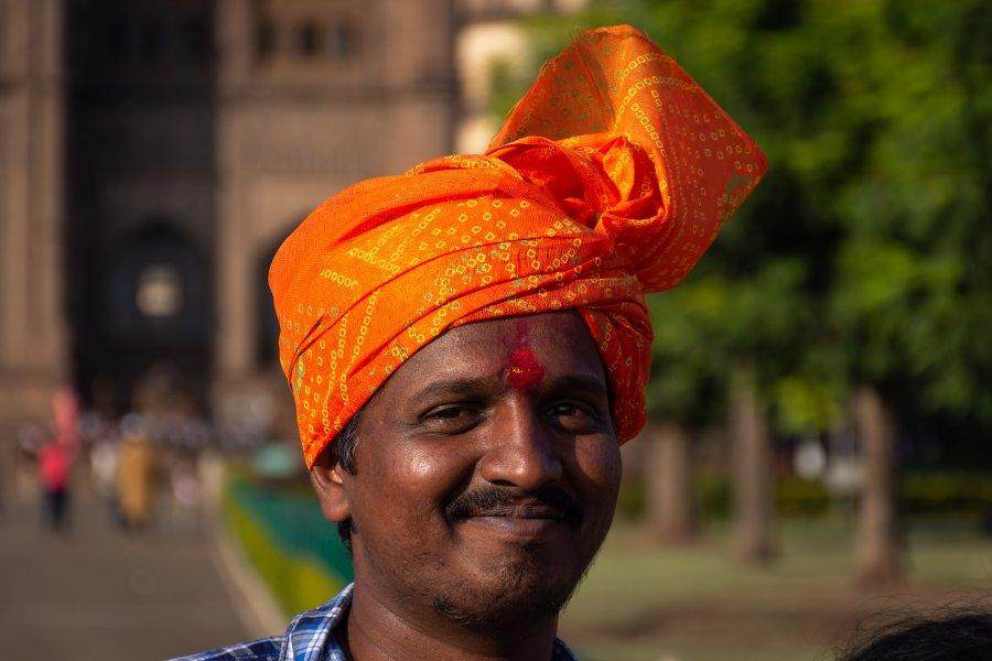 Indien au turban, Bijapur, Karnataka