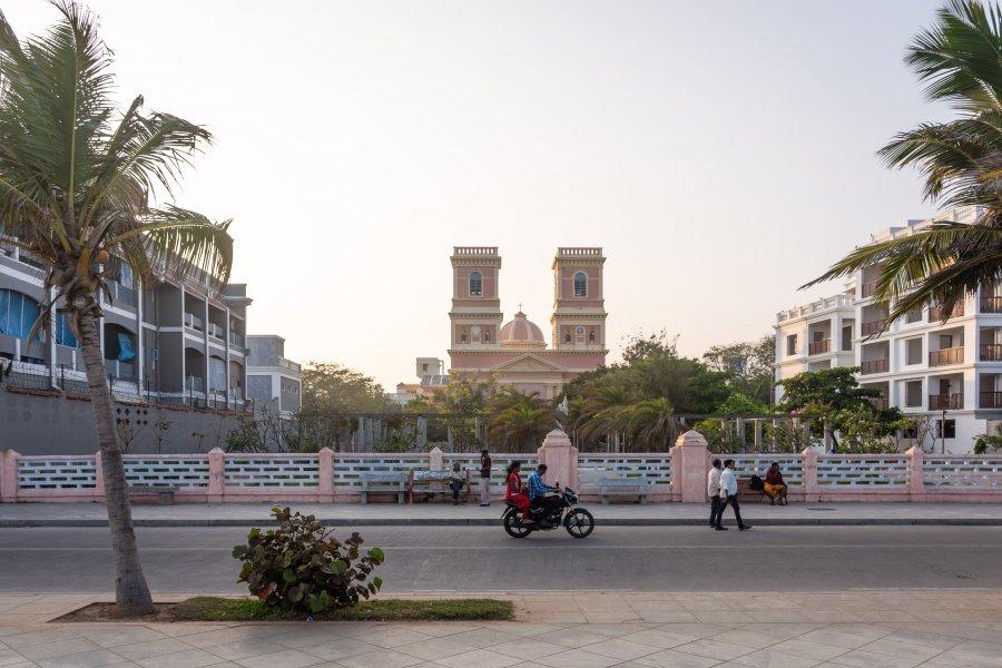 Église Notre-Dame des Anges à Pondichéry, Inde