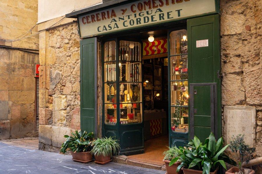 Boutique à Tarragone, Espagne