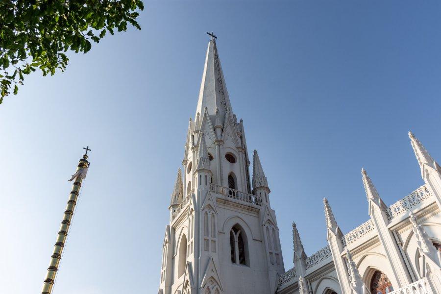 Eglise Saint-Thomas à Chennai en Inde