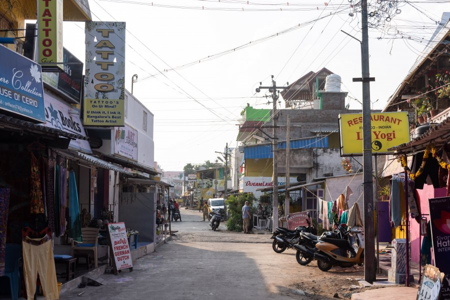 Mahabalipuram, village du Tamil Nadu, Inde