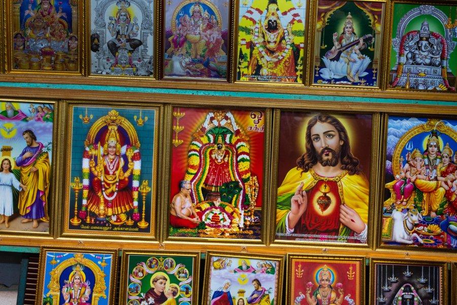 Mix de religions en Inde