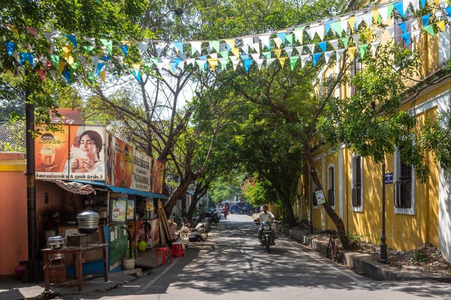 Centre colonial de Pondichéry, Inde