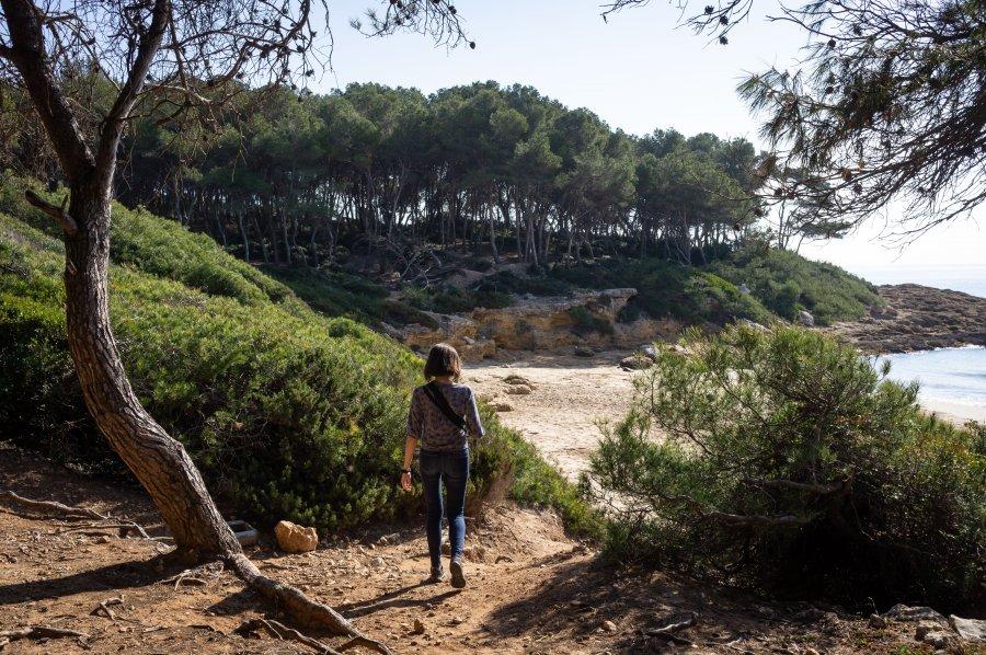 Randonnée sur la Costa Daurada, Espagne