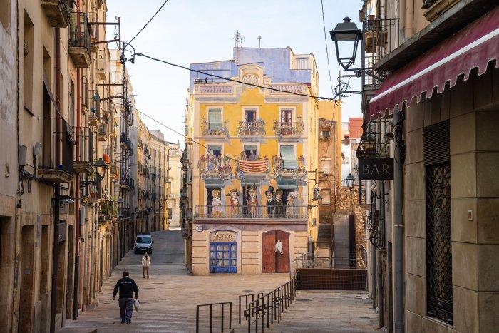 Rue de Tarragone, Espagne