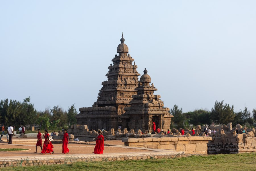 Shore temple à Mahabalipuram, Inde