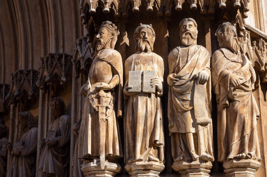 Statues de la cathédrale de Tarragone, Espagne