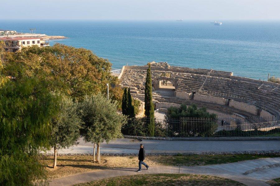 Amphithéâtre romain de Tarragone, Espagne