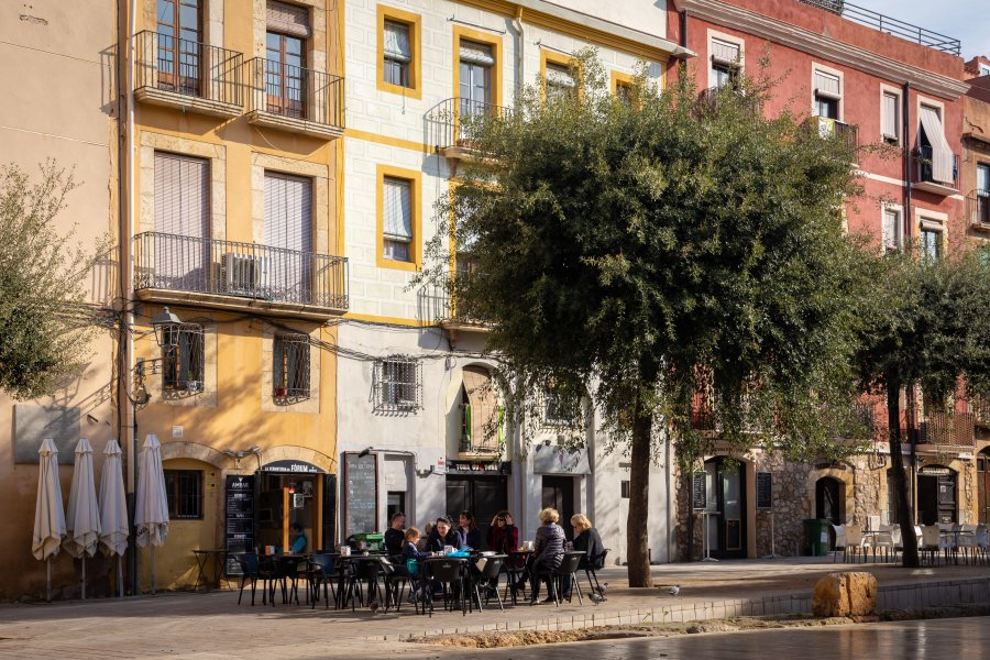 Terrasse à Tarragone, Espagne