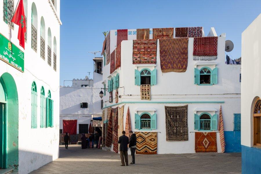 Médina d'Asilah, ville marocaine