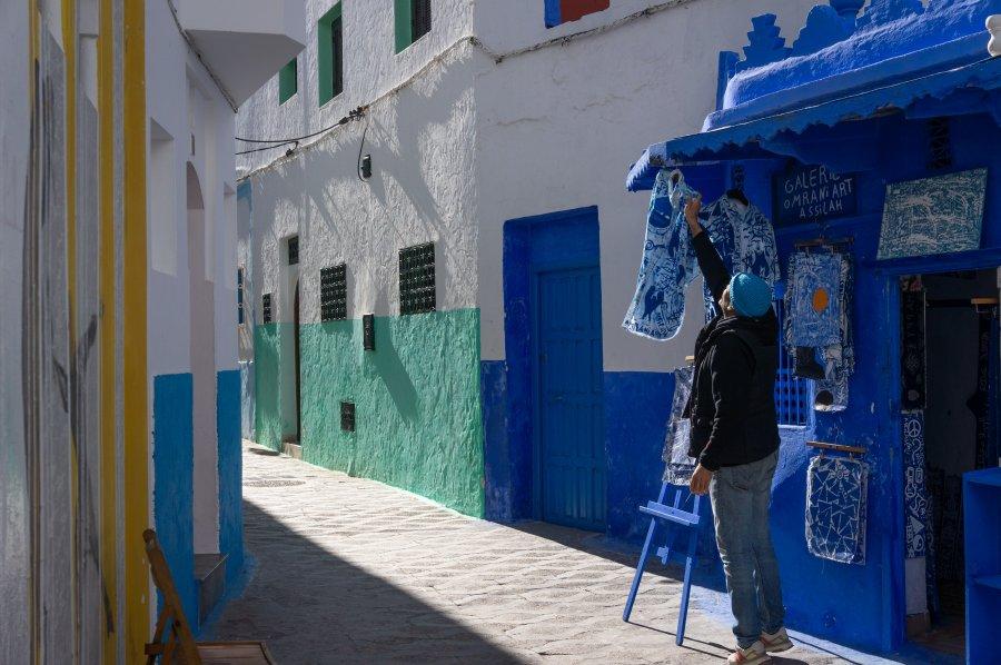 Boutique à Assilah, Maroc