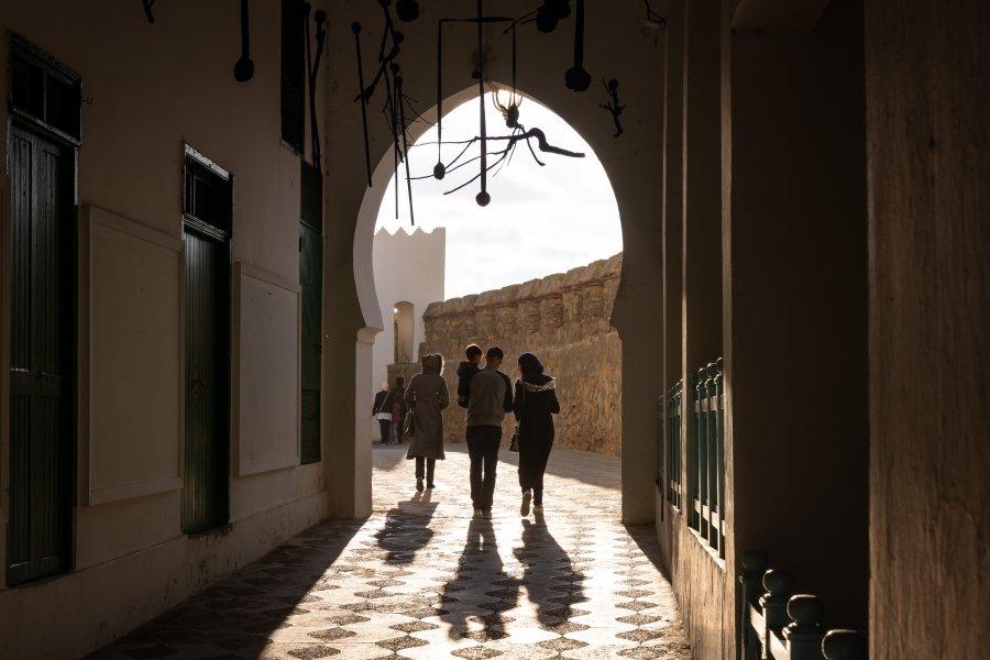 Passage à Asilah, Maroc