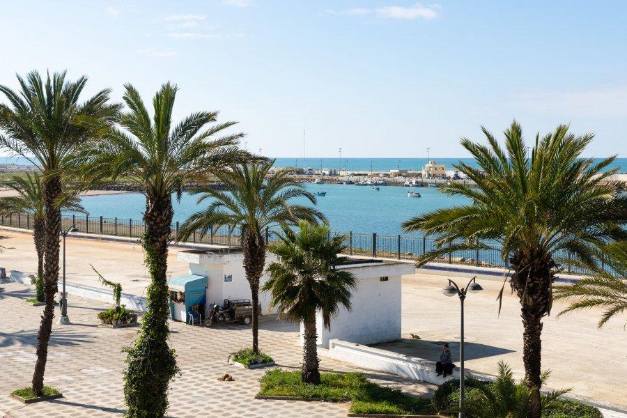Bord de mer à Asilah, Maroc