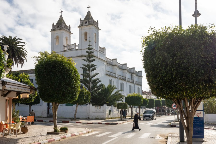 Eglise à Asilah, Maroc