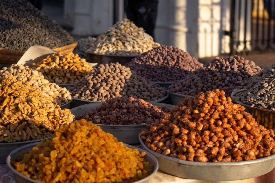 Fruits secs au Maroc