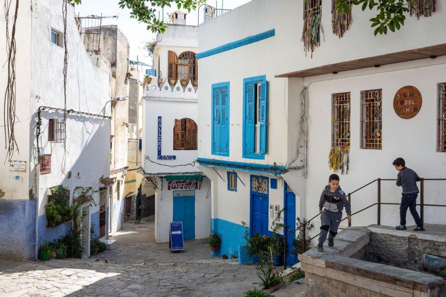 Kasbah de Tanger au Maroc
