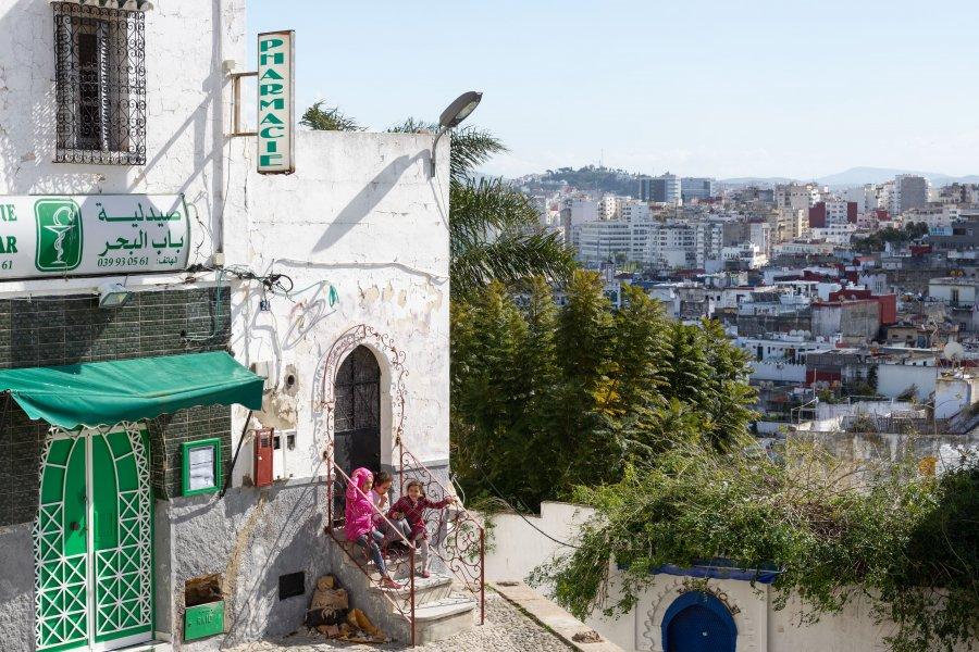 Médina de Tanger au Maroc