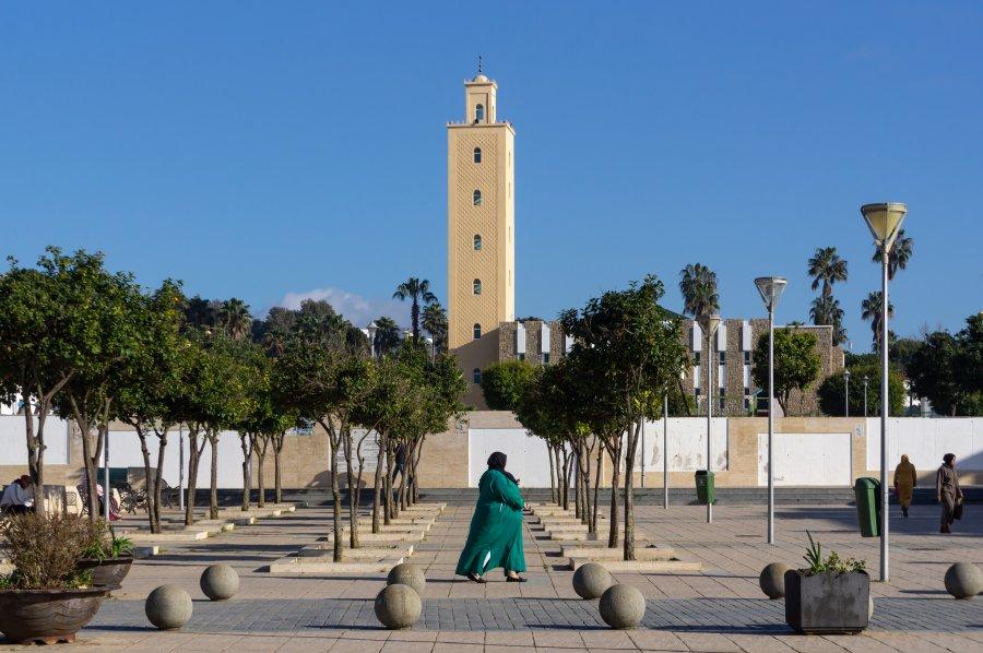 Mosquée à Asilah, Maroc