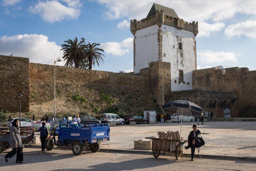 Remparts d'Asilah au Maroc