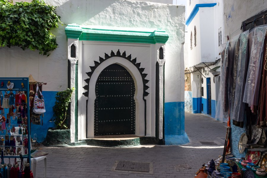 Ruelle de médina de Tanger, Maroc