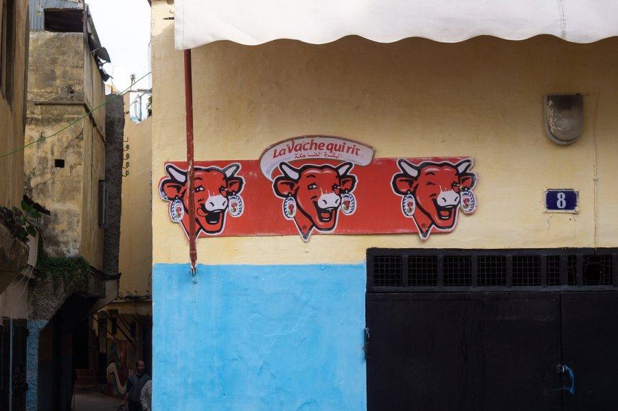Vache qui rit au Maroc