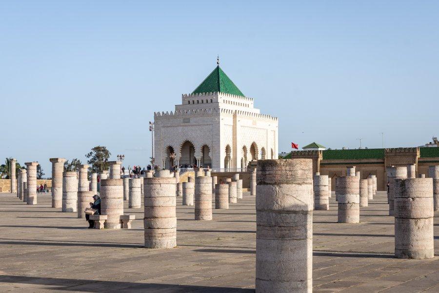 Mausolée de Mohamed V, Rabat