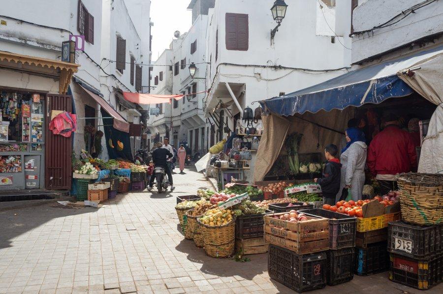 Ancienne médina de Casablanca, Maroc