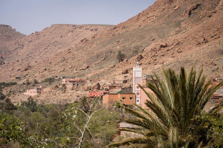 Village dans les montagnes du Maroc