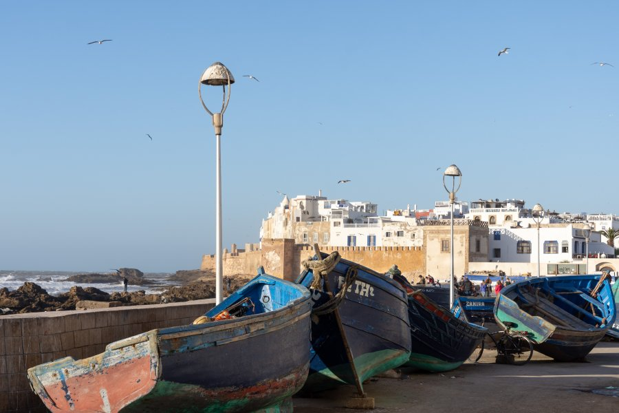 Barques du port d'Essaouira