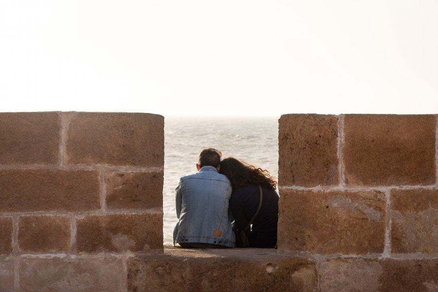 Couple romantique à Essaouira