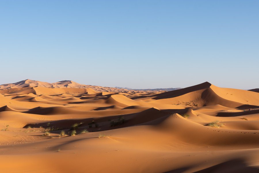 Dunes de l'Erg Chebbi à Merzouga