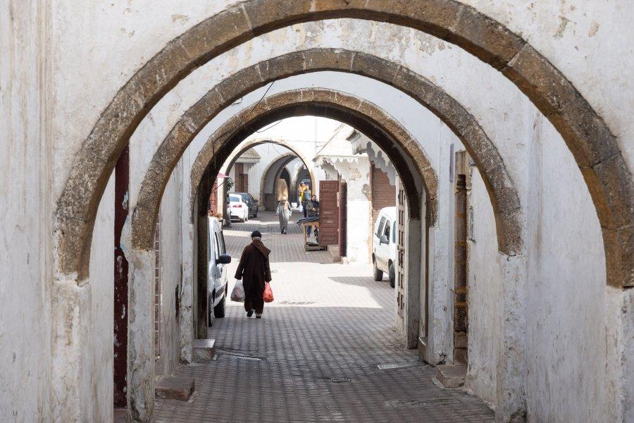 Ruelle des Habbous, Casablanca, Maroc