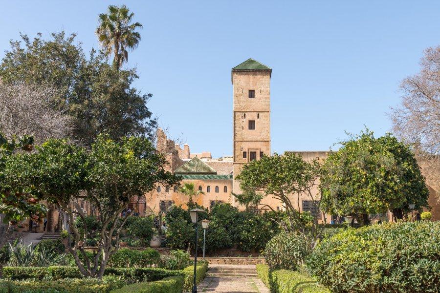 Jardins andalous de Rabat, Maroc