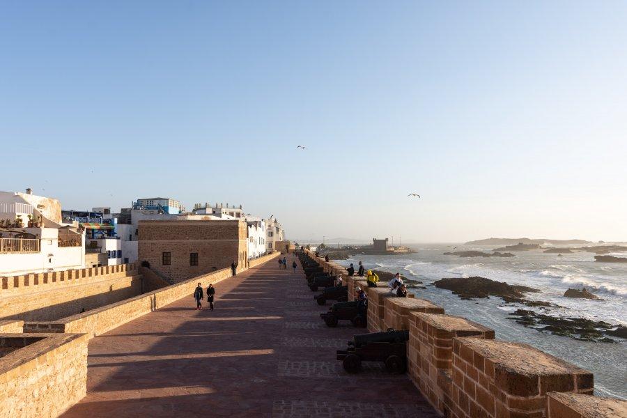 Kasbah d'Essaouira au Maroc
